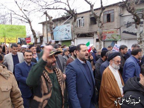وحدت ملی و انسجام ایرانیان با شرکت پرشور در راهپیمایی یوم الله 22 بهمن متجلی شد