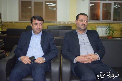 بازدید معاون هماهنگی امور اقتصادی استاندار و عضو ستاد انتخابات استان