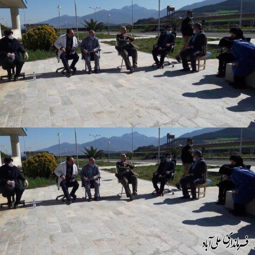 بازدید فرماندار و رئیس دانشگاه علوم پزشكي از بیمارستان بقیه اله الاعظم(عج)