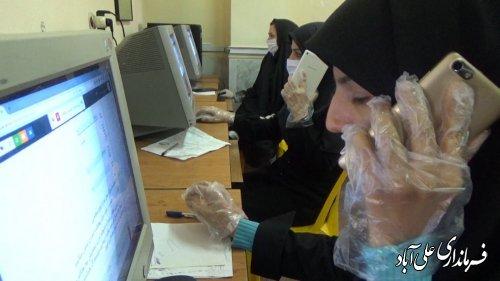 پایان اجرای طرح ملی غربالگری بیماری ویروس کرونا در علی آباد کتول