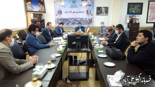 تشکیل اولین کمیته سیلاب شهری در علی آبادکتول