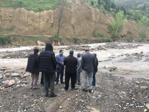 تسریع روندتامین مصالح و عملیات اجرایی مرمت و بازسازی جاده غربی سد کبودوال