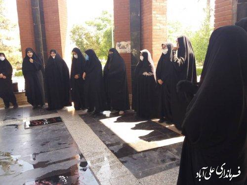 افتتاحیه برنامه های گرامیداشت هفته عفاف و حجاب شهرستان علی آباد کتول