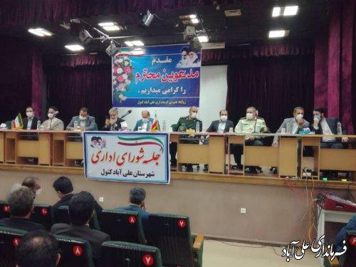 فرماندار جدید علی آباد کتول معارفه شد