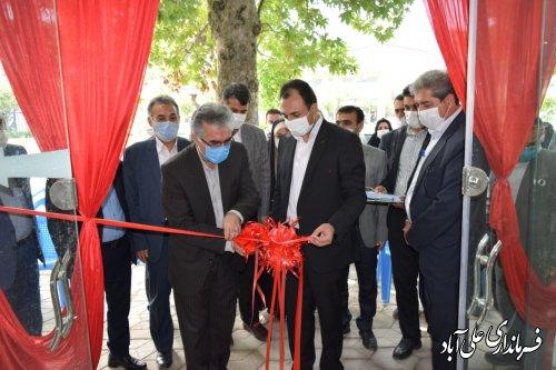 آئین افتتاح فاز نخست پروژه های تجاری سازی در شهرستان علی آبادکتول برگزار شد