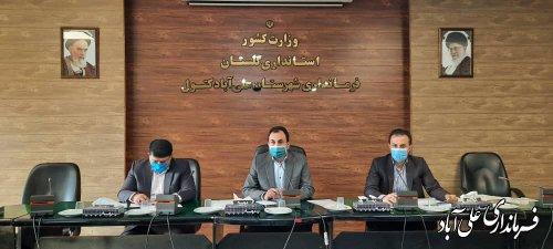 مصوبات به جامانده می بایست بجد مورد پیگیری اعضای شورای ترافیک قرار گیرد
