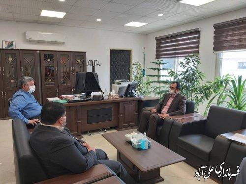 دیدار با معاون استاندار در خصوص مسائل و مشکلات شهرستان