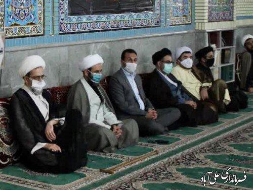 گردهمایی ویژه ارزیابی محرم و محکومیت اهانت به نبی مکرم اسلام در شهرستان