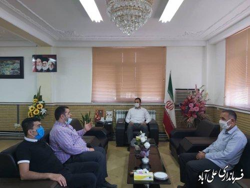 ملاقات عمومی مردم با فرماندار علی آباد کتول برگزار شد