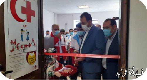 آئين افتتاح  دو خانه هلال درشهرستان علی آباد کتول