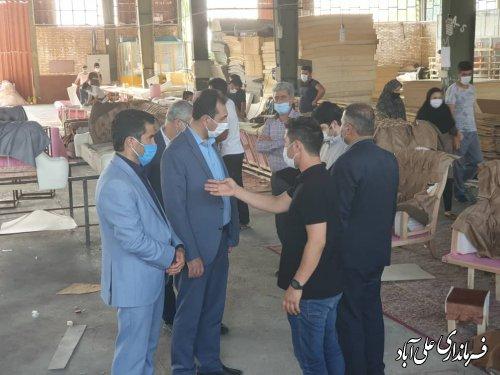 فعال شدن چهار واحد تولیدی راکد در شهرک صنعتی شهرستان علی آباد کتول با اشتغالزایی 54 نفر