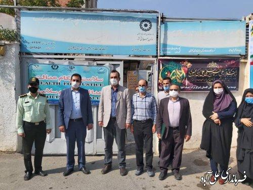 بازدید فرمانداراز مراکز کمپ ترک اعتیاد شهرستان