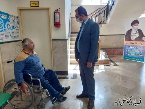 ملاقات عمومی با فرماندار علی آباد کتول برگزار شد