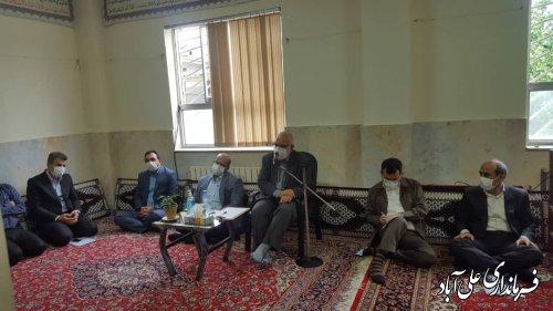 رییس کمیته امداد کشور به شهرستان علی آباد کتول سفر کرد
