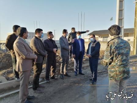 حضور میدانی فرماندار در روستای ماهستان