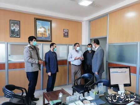 دیدار فرماندار با رئیس و کارکنان شرکت توزیع برق شهرستان علی آبادکتول
