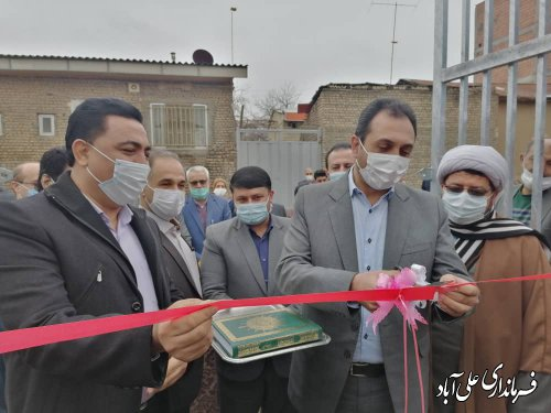 افتتاح متمرکز پروژه های شرکت مخابرات شهرستان علی آباد کتول