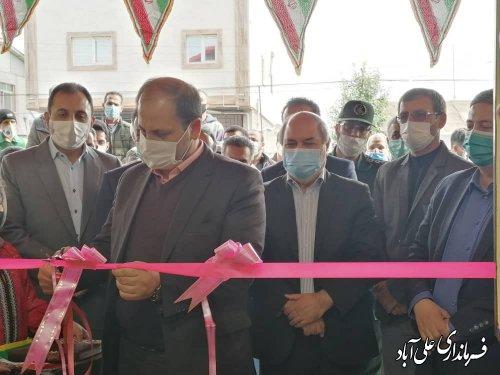 افتتاح سالن ورزشی شهید سلیمانی روستای حاجیکلاته شهرستان علی آباد کتول