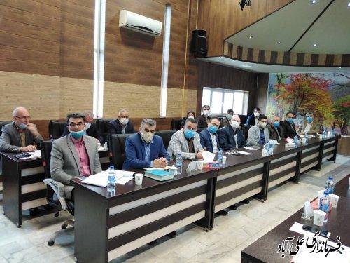 نشست تخصصی آموزشی انتخابات  ویژه بخشداران استان گلستان