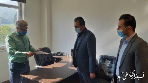 تقدیر از مهندسین مجموعه فرمانداری و روئسای نظام مهندسی علی آباد کتول و فاضل آباد