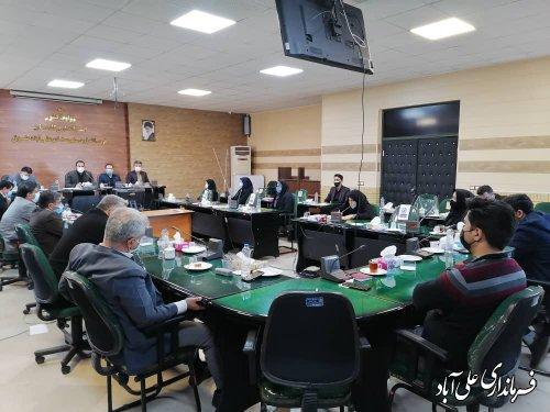 جلسه ستاد امور اجرایی انتخابات شهرستان علی آباد کتول