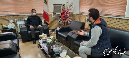 ملاقات عمومی فرماندار علی آباد کتول با مردم طبق برنامه هفتگی انجام شد؛