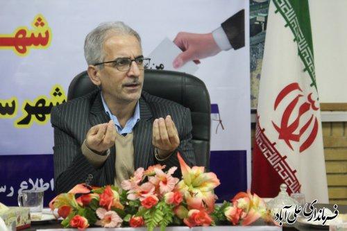 ثبت نام ۱۸ نفر در پنجمین روز از ثبت نام انتخابات شوراهای اسلامی شهر حوزه علی آباد کتول