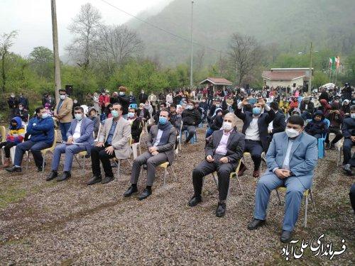 جشنواره فرهنگ و اقتصادروستا در دهنه گردشگری محمدآباد کتول شهرستان علی آبادکتول