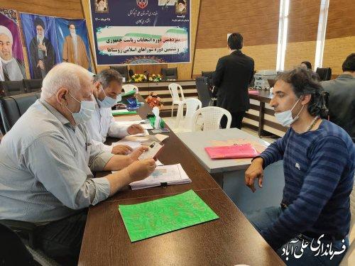 گزارش تصویری از روزآخر ثبت نام انتخابات ششمین دوره شوراهای اسلامی روستا در بخشداریهای کمالان و مرکزی شهرستان علی آباد کتول