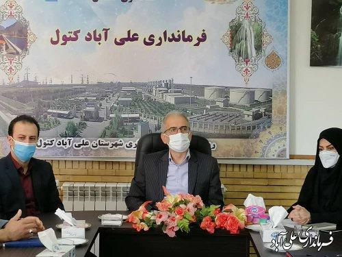 حکم حسن شموشکی بعنوان شهردار مزرعه کتول ابلاغ شد ؛