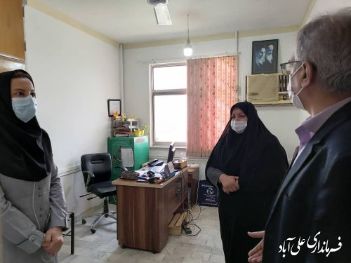 بازدید فرماندار از اداره جهاد کشاورزی شهرستان علی آبادکتول