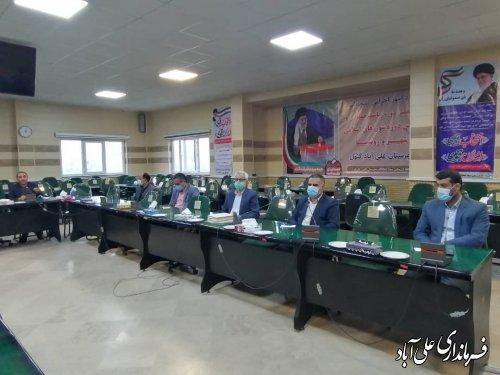 عملیات اجرایی احداث فاضلاب شهری علی آباد کتول، درسال جاری آغازخواهدشد؛