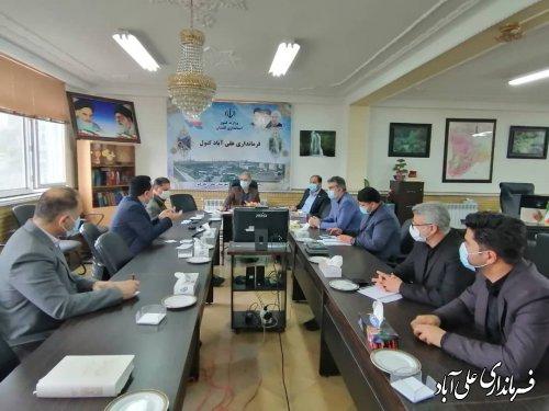 زیرساختهای مخابراتی و پوشش اینترنتی شهرستان علی آبادکتول تا پایان سال جاری ، تجهیز،تقویت و بهینه سازی خواهد شد ؛