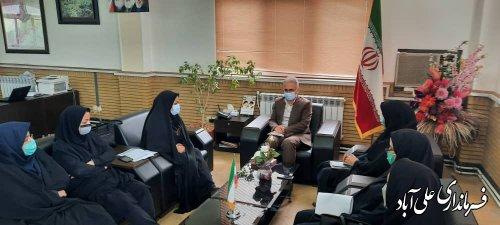 ملاقات عمومی جمعی از شهروندان و اهالی شهرستان آبادکتول با فرماندار