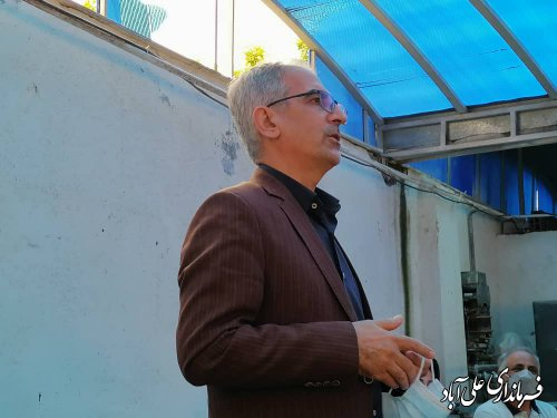راه اندازی کارگاه خیاطی توانمندسازی بانوان شهر فاضل آباد