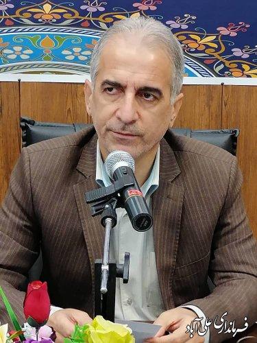 همایش شوراهای اسلامی بخش کمالان شهرستان علی آباد کتول