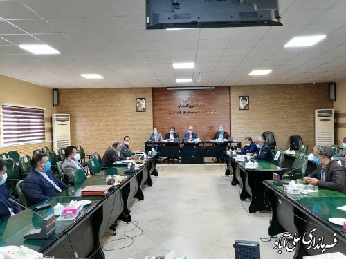 جلسه هماهنگی هیئتهای اجرایی ، نظارت و بازرسی انتخابات شهرستان علی آباد کتول