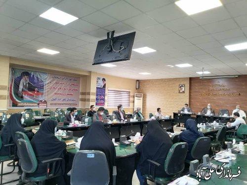 نشست کمیته های اجرایی ستاد انتخابات شهرستان علی آباد کتول
