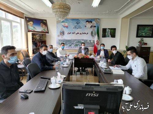 بهره برداری و آغاز عملیات اجرایی 33 پروژه روستایی در شهرستان علی آبادکتول