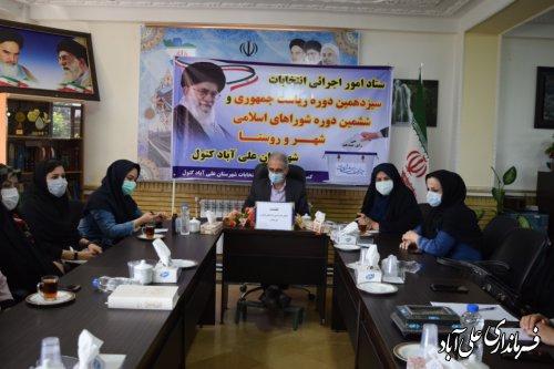 انتخابات صحنه تبلور اقتدار و مقبولیت نظام جمهوری اسلامی در عرصه بین المللی است