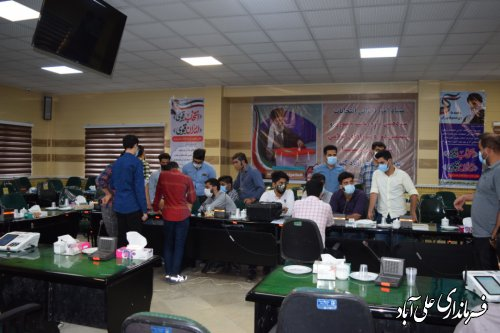 آموزش کاربران رایانه شعب اخذ رای آغاز شد/ آموزش 350 کاربر در علی آباد کتول