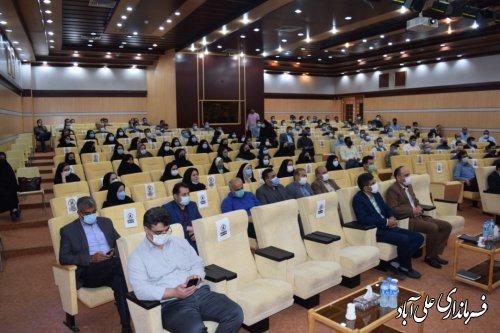 همایش آموزشی بازرسان و سربازرسان ستاد انتخابات شهرستان علی آبادکتول برگزار شد ؛