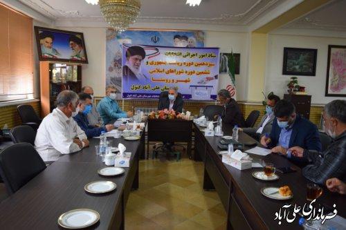 رقابت 658 نفر برای تصاحب 267 کرسی شورایی در سطح شهرها و روستاهای شهرستان علی آبادکتول