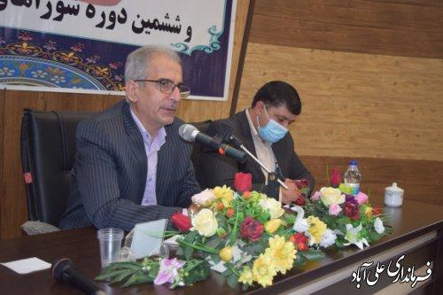 همایش مشارکت حداکثری در بخش کمالان شهرستان علی آبادکتول برگزار گردید؛
