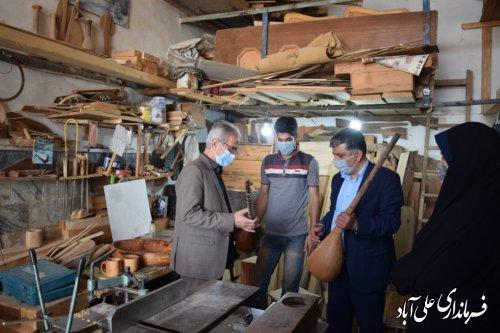 صنایع دستی علی آباد کتول بایستی در تمام کشور معرفی شود ؛
