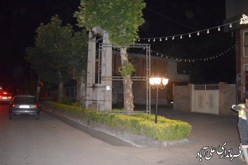 جمع آوری بنرهای غیر مجاز تبلیغاتی توسط کمیته امحاء شهرستان علی آباد کتول