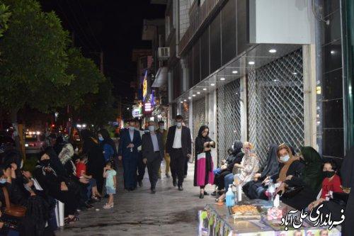بازدید فرماندار  از ستادهای انتخاباتی شهرستان علی آباد کتول