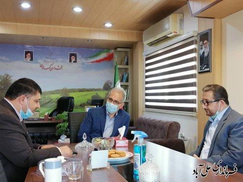 تقدیر از زحمات مجموعه قضایی بخش کمالان در برگزاری انتخابات 1400
