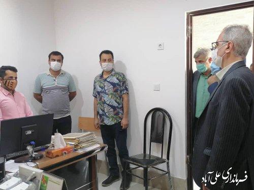 بازدید فرماندار علی آبادکتول از شهرداریهای فاضل آباد، سنگدوین و مزرعه کتول
