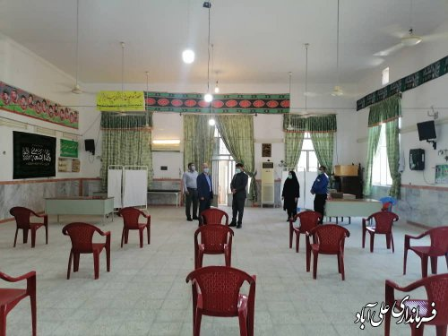 افزايش تعداد مراكز ثابت و موقت تزريق واكسن كرونا در علی آبادکتول